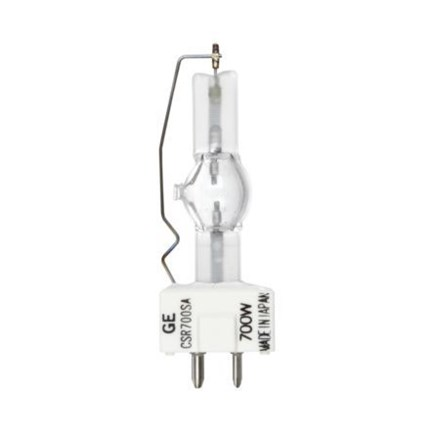CSR700/SA GE 15380 700 Watt 70 Volt High Intensity Discharge - Quartz Metal Halide Lamp