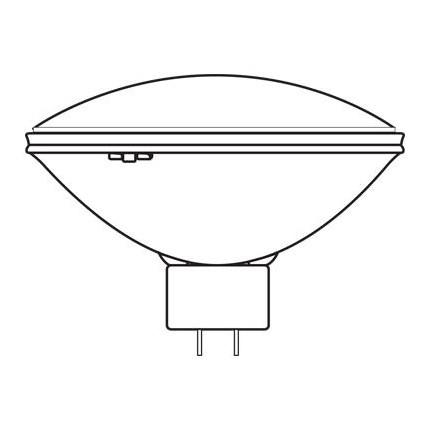 Q6.6A/PAR56/4 GE 18309 200 Watt 45 Volt Halogen - PAR Lamp