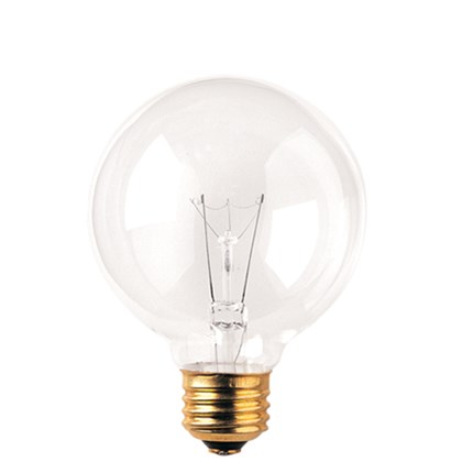 40G25CL2 Bulbrite 393104 40 Watt 120 Volt Incandescent Lamp