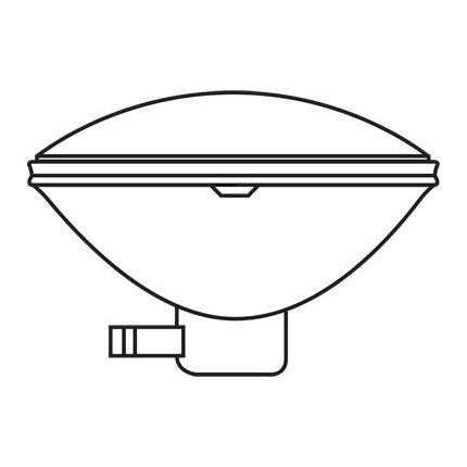 150PAR46/3MFL GE 41968 150 Watt 125 Volt Incandescent - Sealed Beam - Par Lamp