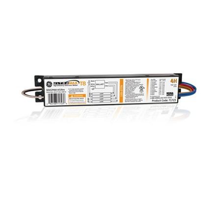 GE432MAX-H/Ultra GE 71723 - 4 or 3 Lamp Fluorescent Ballast