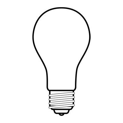 150A21/RS GE 72532 150 Watt 130 Volt Incandescent Lamp