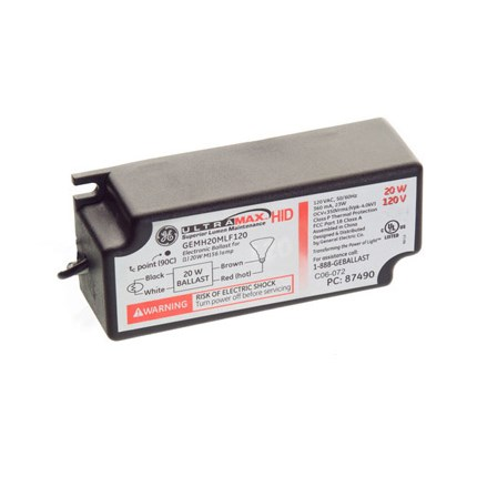 GEMH20-MLF-120 GE 87490 eHID Electronic Ballast