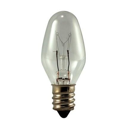 4C7 Eiko 40353 4 Watt 120 Volt Incandescent Lamp
