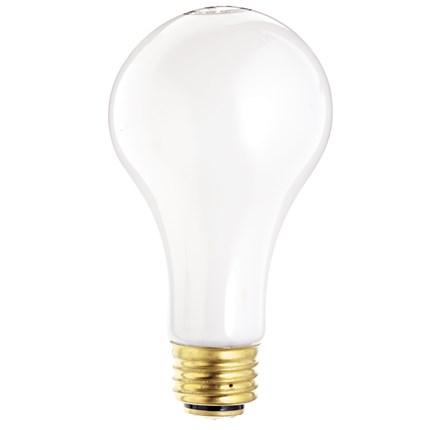 30/100A21/W Satco S1820 30/70/100 Watt 120 Volt Incandescent Lamp