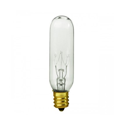 15T6/145V Satco S4727 15 Watt 145 Volt Incandescent Lamp