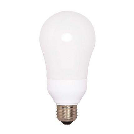 15A19/27 Satco S7291 15 Watt 120 Volt Compact Fluorescent Lamp