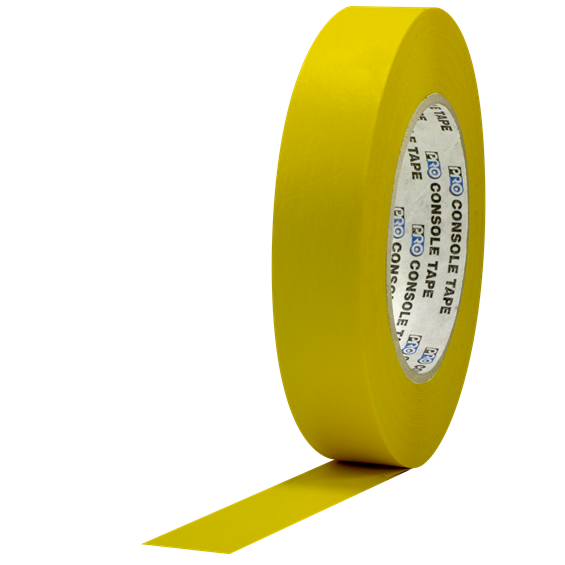 console_tape_1_inch_yellow