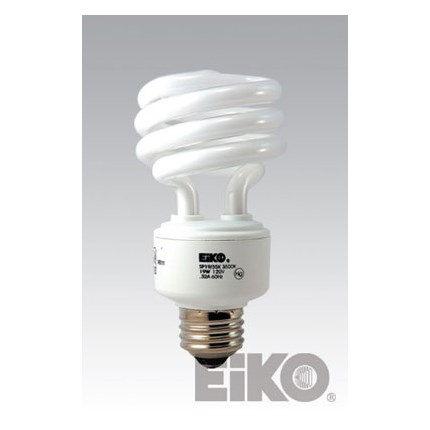 SP19/27K Eiko 00034 18 Watt 120 Volt Compact Fluorescent Lamp