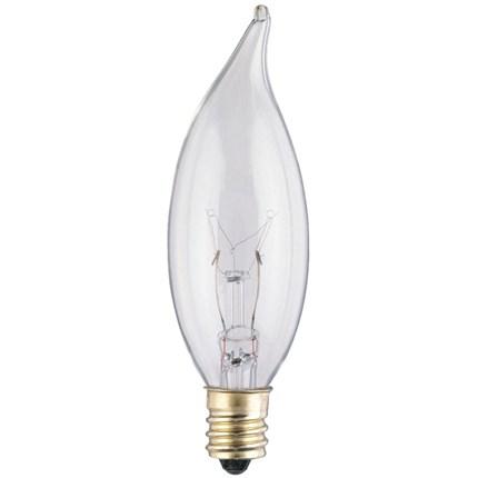 10CA7/CB Westinghouse 03272 10 Watt 120 Volt Incandescent Lamp