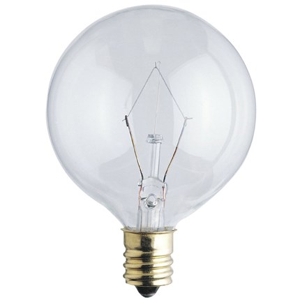 40G161/2/CB/130 Westinghouse 03612 40 Watt 130 Volt Incandescent Lamp