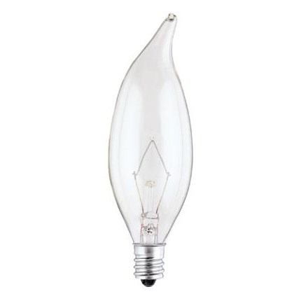 60CA10/CB/130 Westinghouse 03662 60 Watt 130 Volt Incandescent Lamp