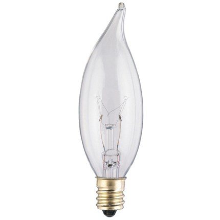 15CA8/CB/130 Westinghouse 03673 15 Watt 130 Volt Incandescent Lamp