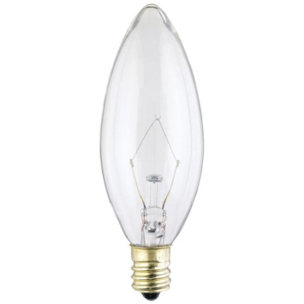 25B91/2/CB/130 Westinghouse 03682 25 Watt 130 Volt Incandescent Lamp