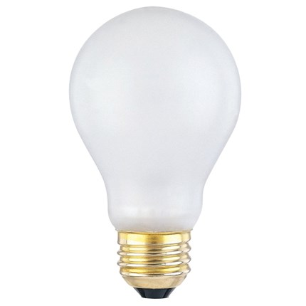 60A/TS/130 Westinghouse 03950 60 Watt 130 Volt Incandescent Lamp
