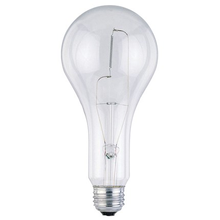 300PS30 Westinghouse 03974 300 Watt 120 Volt Incandescent Lamp