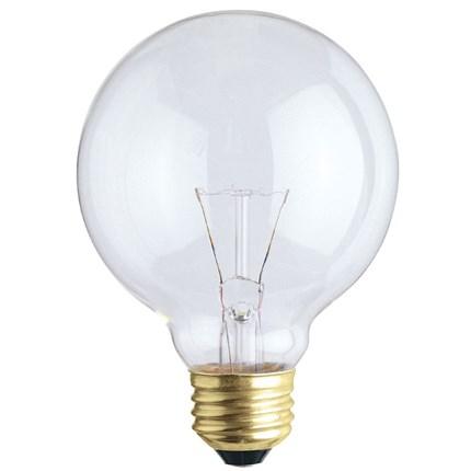 40G25/130 Westinghouse 04219 40 Watt 130 Volt Incandescent Lamp