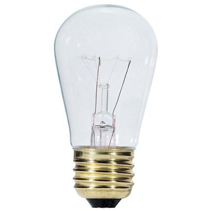 11S14/130 Westinghouse 04340 11 Watt 130 Volt Incandescent Lamp