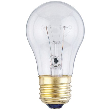 15A15/130 Westinghouse 04501 15 Watt 130 Volt Incandescent Lamp