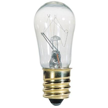 6S6/CB/130 Westinghouse 04525 6 Watt 130 Volt Incandescent Lamp