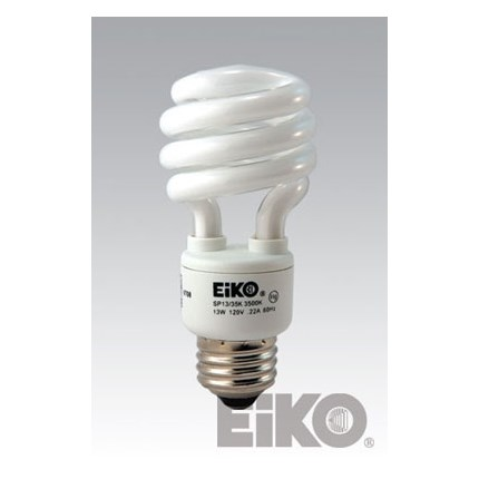 SP13/65K Eiko 06131 13 Watt 120 Volt Compact Fluorescent Lamp