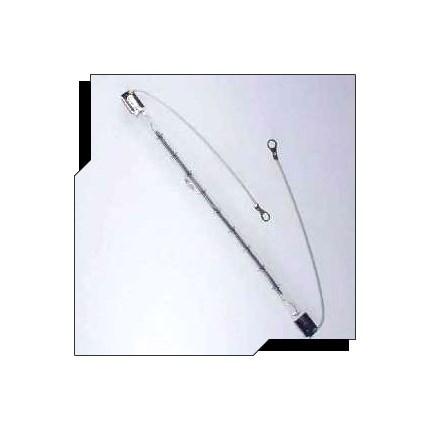 QIH480-2500/VS Ushio 1001376 2500 Watt 480 Volt Heat Lamp