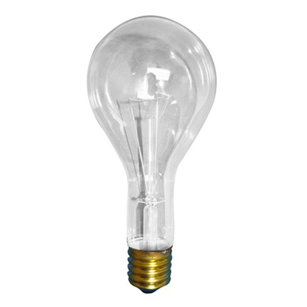 300PS25CL Bulbrite 101300 300 Watt 130 Volt Incandescent Lamp