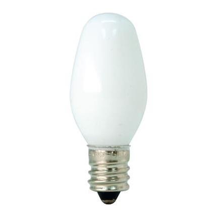 7C7/W  GE 11815 (240 PACK) 7 Watt 120 Volt Incandescent Lamp