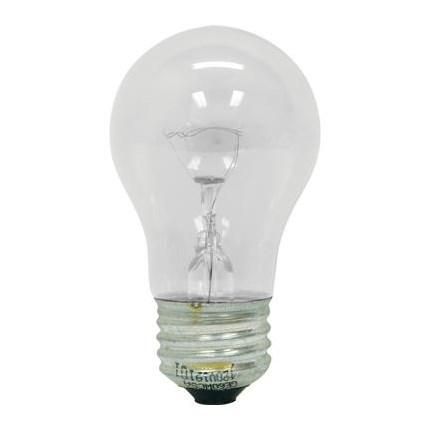 30A15/CL GE 15291 30 Watt 130 Volt Incandescent Lamp