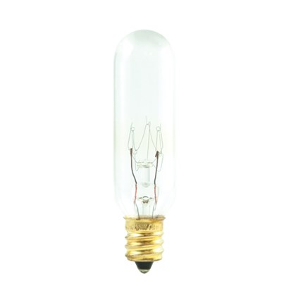 15T6/4 Bulbrite 707415 15 Watt 145 Volt Incandescent Lamp