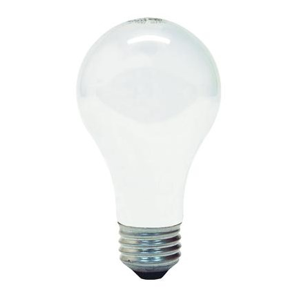 50A19/RS/SH GE 16201 50 Watt 75 Volt Incandescent Lamp