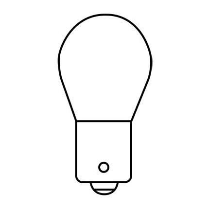 1156NA MIN (10 Pack) GE 20248 27 Watt 12.8 Volt Miniature Lamp