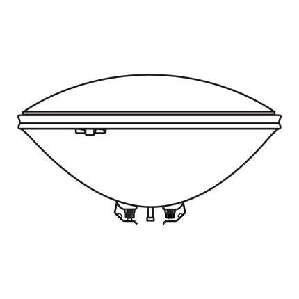 4545 MIN S BEAM GE 24768 100 Watt 12 Volt Incandescent - Sealed Beam - Par Lamp