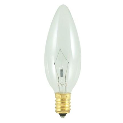 25CTC/E14 Bulbrite 400425 25 Watt 130 Volt Incandescent Lamp