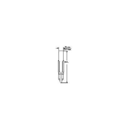 48C2 MIN (10 Pack) GE 29041 2 Watt 48 Volt Miniature Lamp