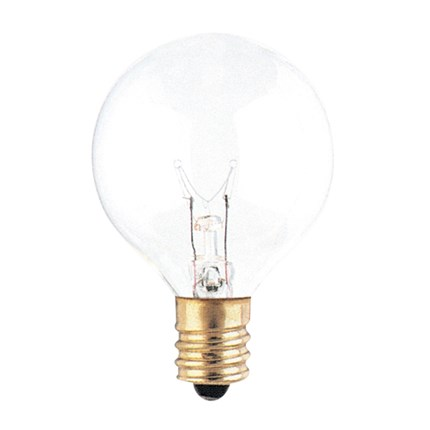10G12CL Bulbrite 301010 10 Watt 130 Volt Incandescent Lamp