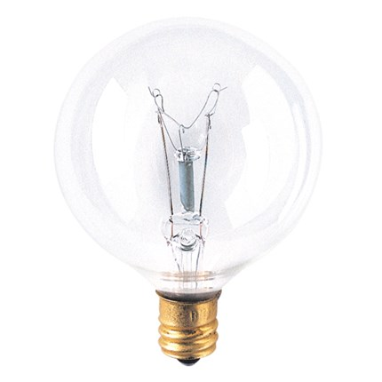 15G16CL3 Bulbrite 311015 15 Watt 130 Volt Incandescent Lamp