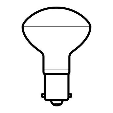15R14SC/SP GE 33404 15 Watt 12 Volt Incandescent Lamp