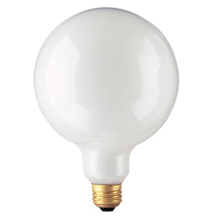 25G40WH Bulbrite 350025 25 Watt 125 Volt Incandescent Lamp