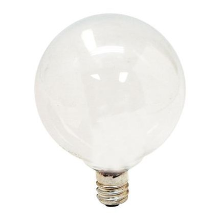 25GC/W GE 39679 25 Watt 120 Volt Incandescent Lamp