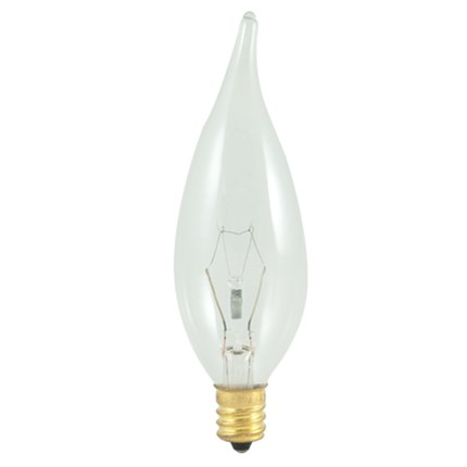 25CFC/HV Bulbrite 403525 25 Watt 220 Volt Incandescent Lamp