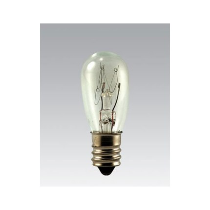 3S6/5 Eiko 40552 (10 pack) 3 Watt 120 Volt Incandescent Lamp