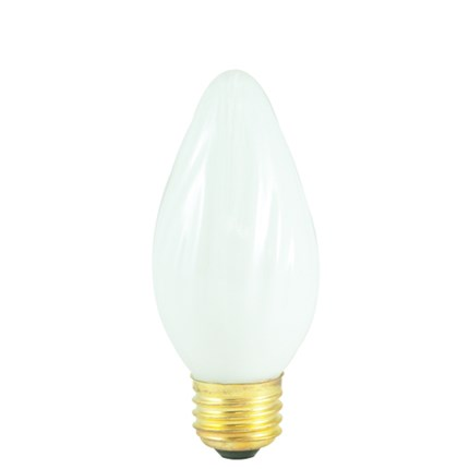 40F15WH Bulbrite 421040 40 Watt 130 Volt Incandescent Lamp