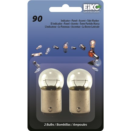 90 MIN (10 Pack) Eiko 41005 8 Watt 13 Volt Miniature Lamp