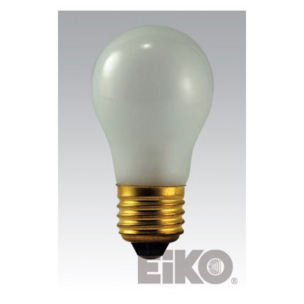 40A15/F Eiko 44392 (25 PACK) 40 Watt 130 Volt Incandescent Lamp