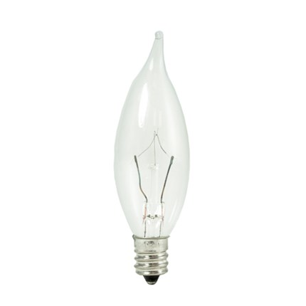 KR15CFC/25 Bulbrite 460315 15 Watt 120 Volt Krypton Lamp