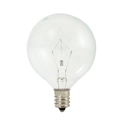 KR15G16CL Bulbrite 461215 15 Watt 120 Volt Krypton Lamp