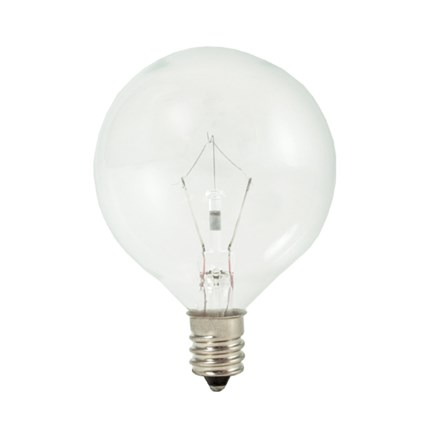 KR25G16CL Bulbrite 461225 25 Watt 120 Volt Krypton Lamp