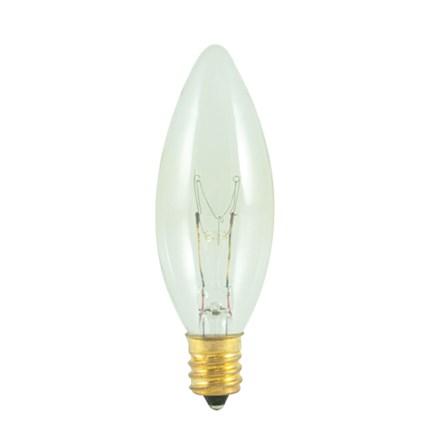 15CTC/25/2 Bulbrite 490115 15 Watt 120 Volt Incandescent Lamp