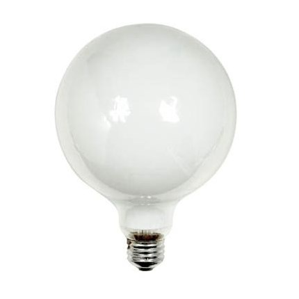 60G40/W GE 49780 (6 PACK) 60 Watt 120 Volt Incandescent Lamp